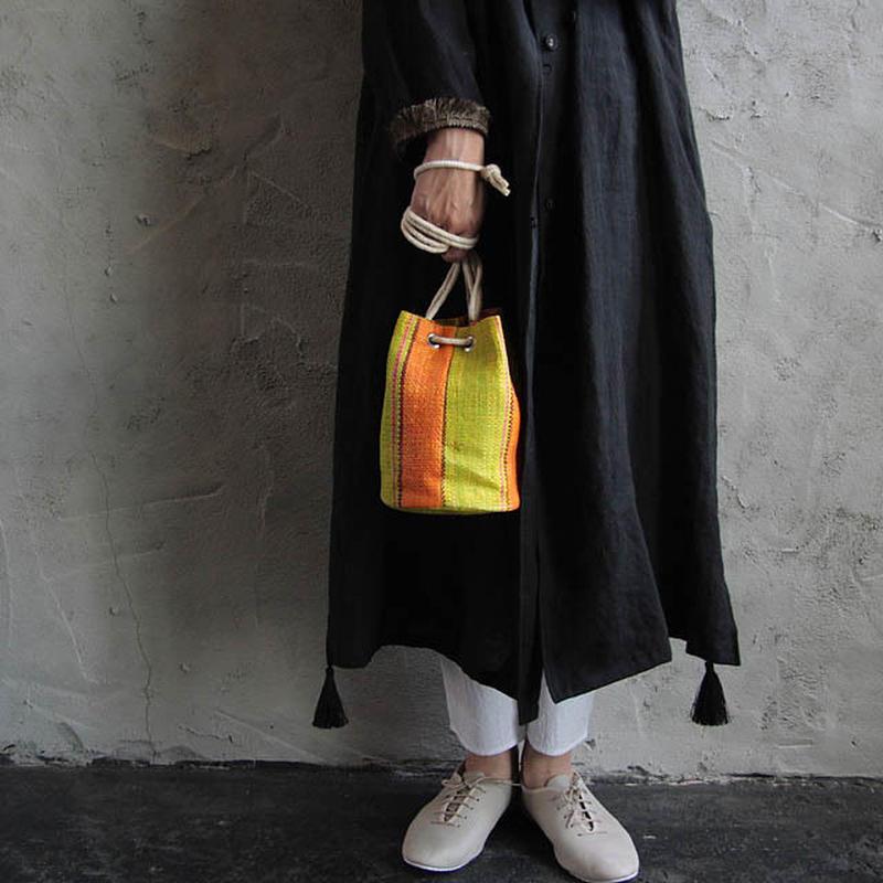 nylon pochette (orange)