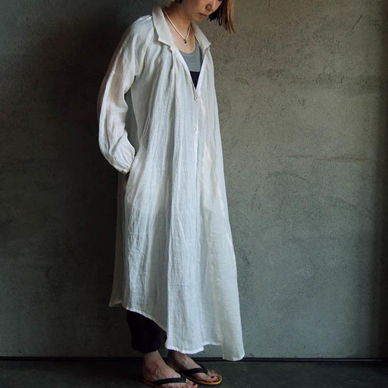 Tabrik shirt dress white