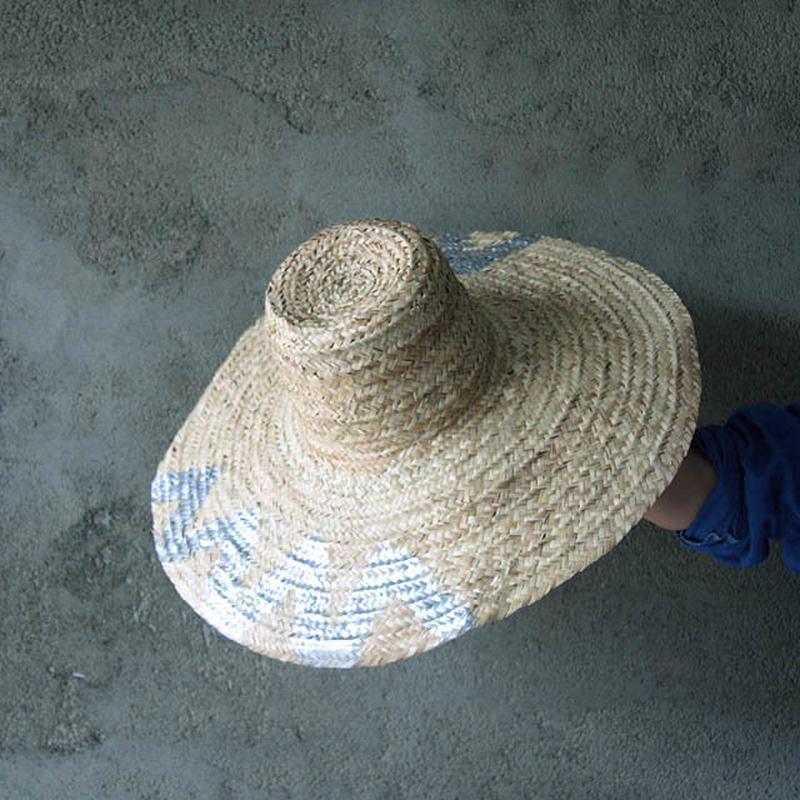 paint straw Hat (C)