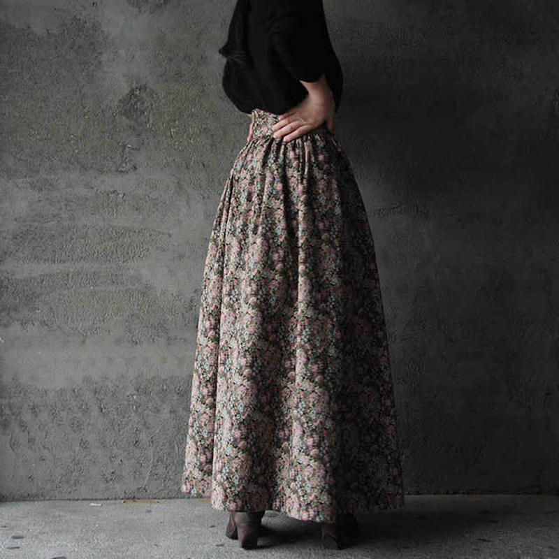 NOTA long gather skirt