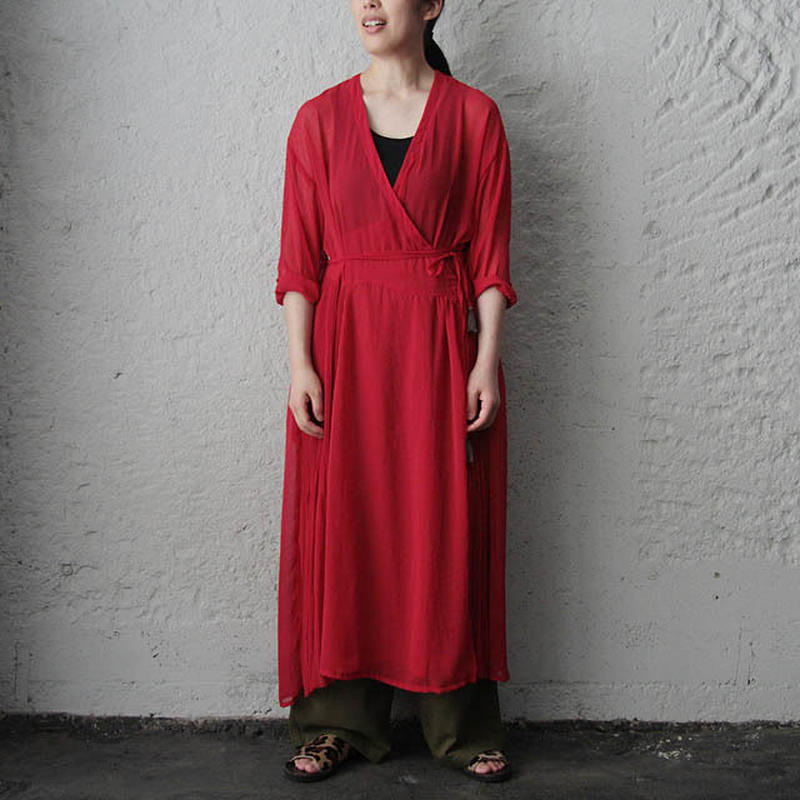 Tabrik kashcourt dress (red)