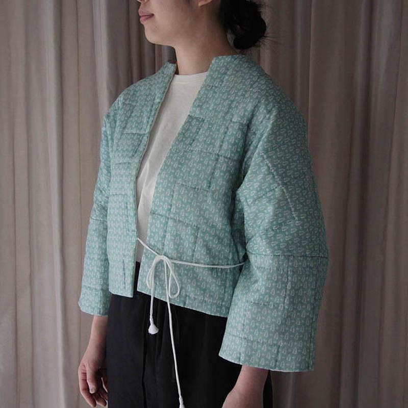 TOWAVASE Sarasa quilt Jacket (green)