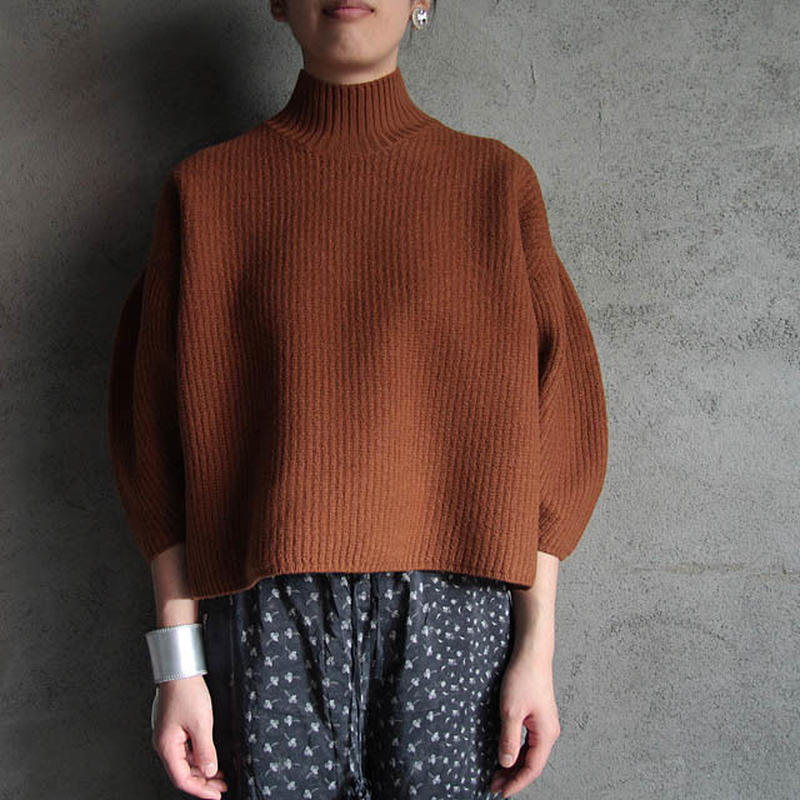 THE FACTORY boiled wool knit