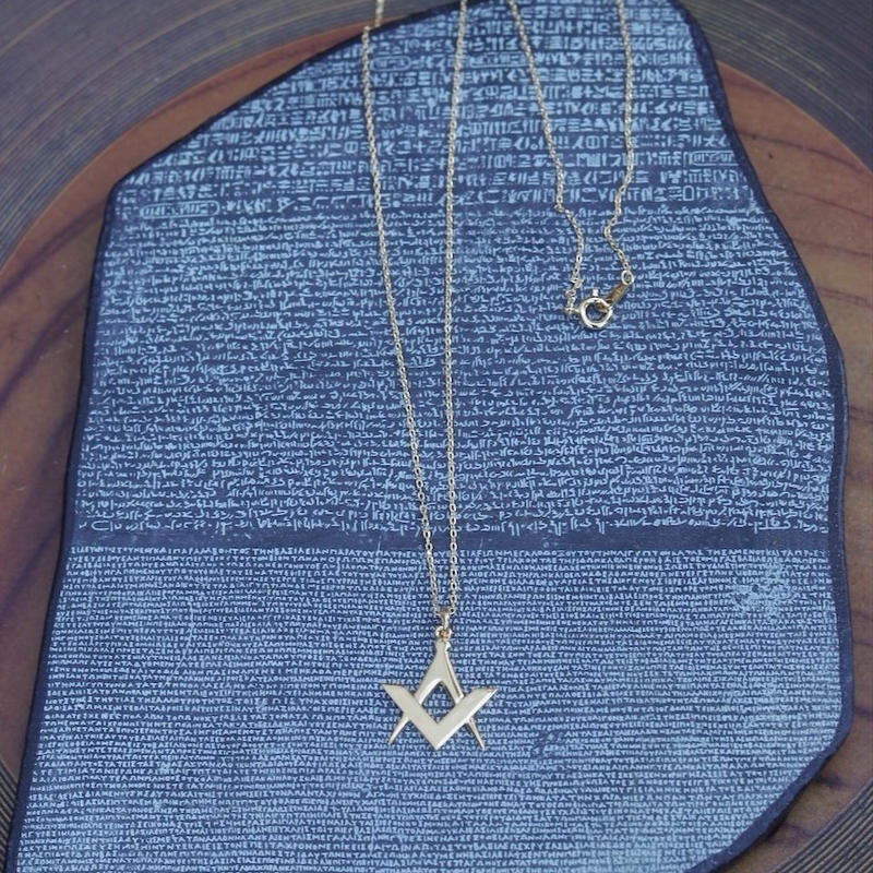 TIME   Emblem Necklace(GOLD)