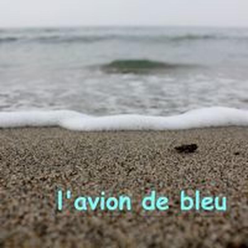 """l'avion 1st album """"l'avion de bleu"""""""