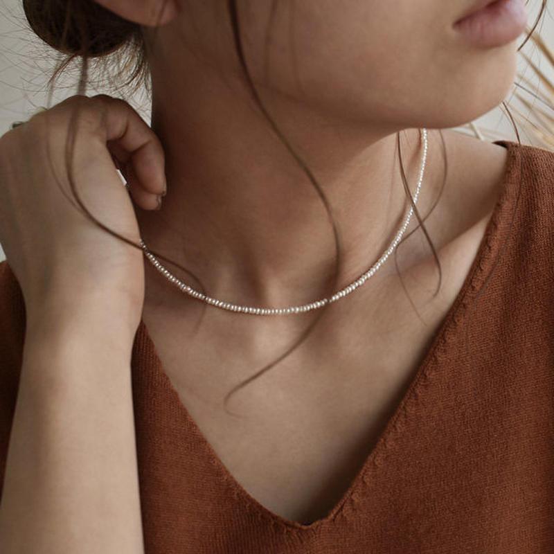 necklace2-02026 送料無料! 小粒淡水パール ネックレス  ☆WA04