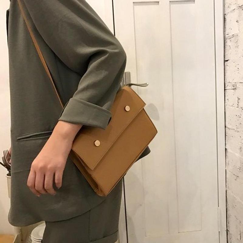 bag2-02290 ヌードカラー ショルダーバッグ クラッチバッグ