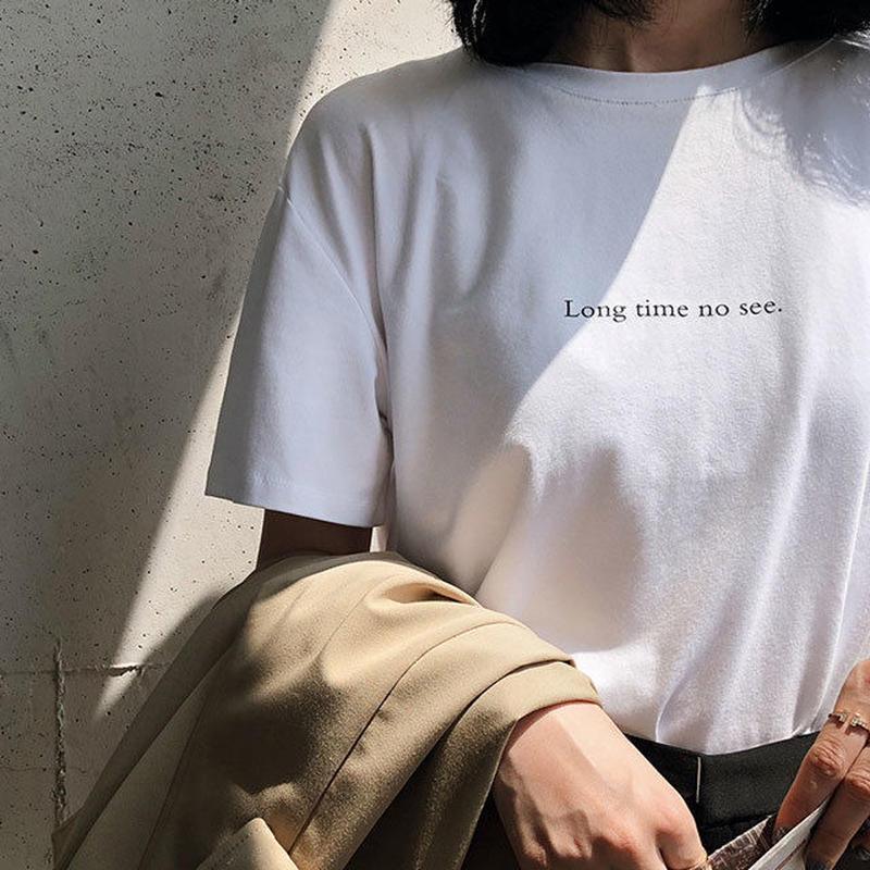 3月中旬~3月下旬入荷分 予約販売 tops-02019  ロゴデザイン Tシャツ ホワイト