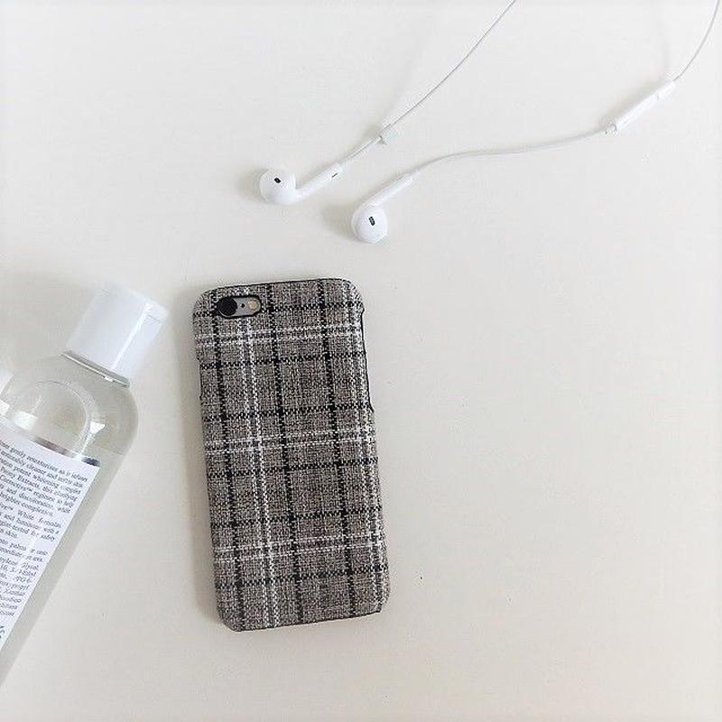 iphone-02380 送料無料! タータンチェック柄 iPhoneケース