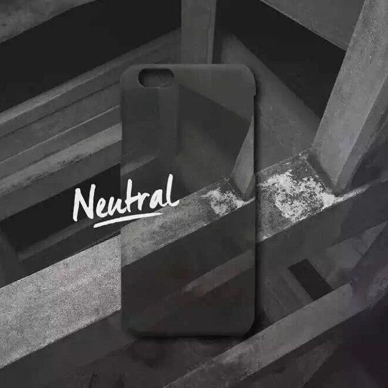 iphone-02078 送料無料!   鉄筋コンクリート ブラック iPhoneケース