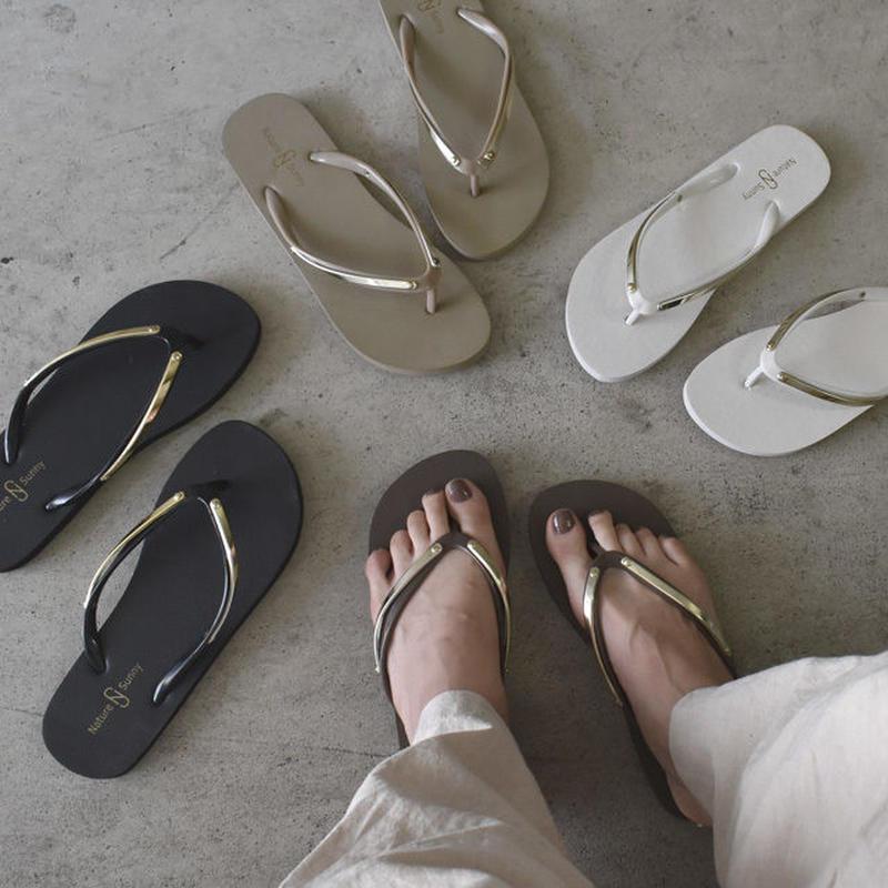 shoes-02011  送料無料! ゴールドプレート トングビーチサンダル