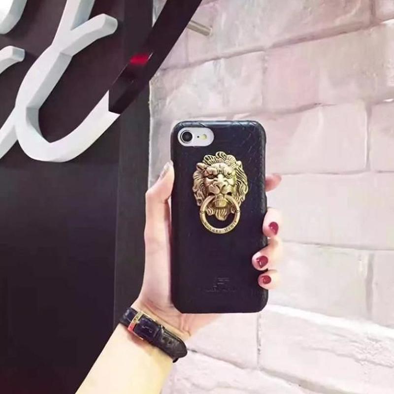 iphone-02325  ライオンモチーフ iPhoneケース