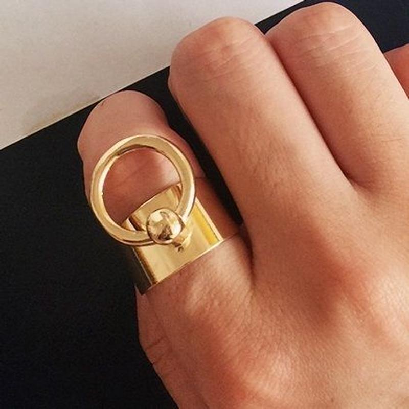 ring-02050 送料無料! リングカン付きリング 13号