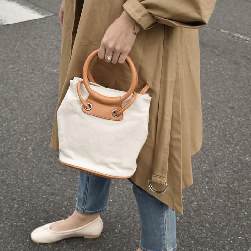 bag2-02441 キャンバス地 ショルダーバッグ ハンドバッグ