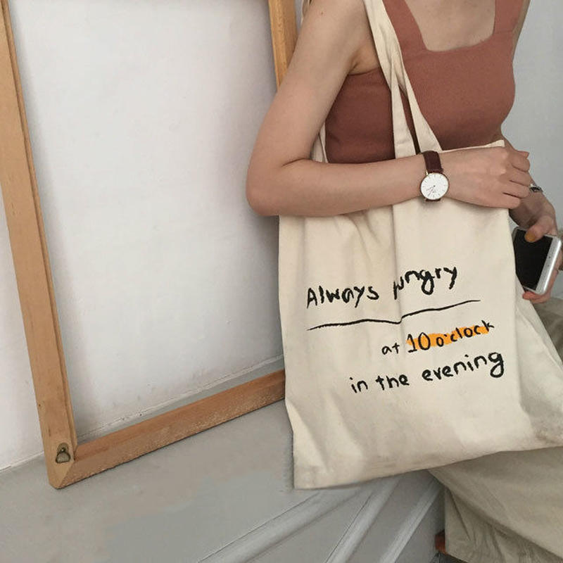 bag2-02280 送料無料! Always hungry Tote Bag トートバッグ エコバッグ