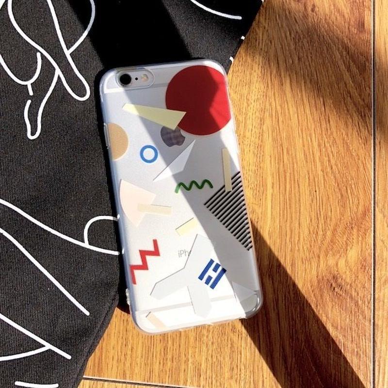 iphone-02417 送料無料! タイプ2 現代アート デザイン  iPhoneケース