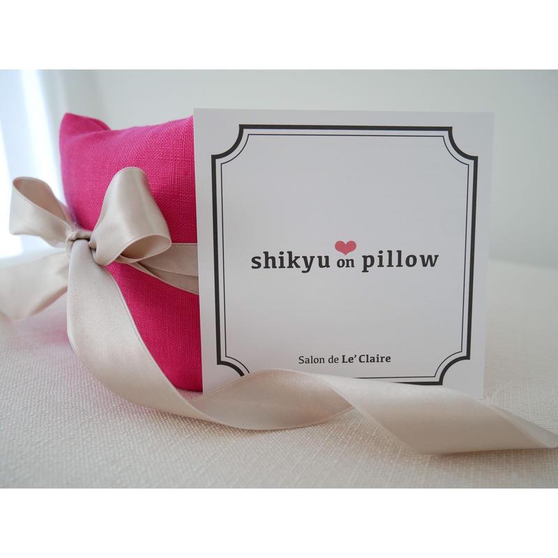 【赤ちゃんが欲しい掲載】子宮温pillow  Cherry Red / チェリーレッド