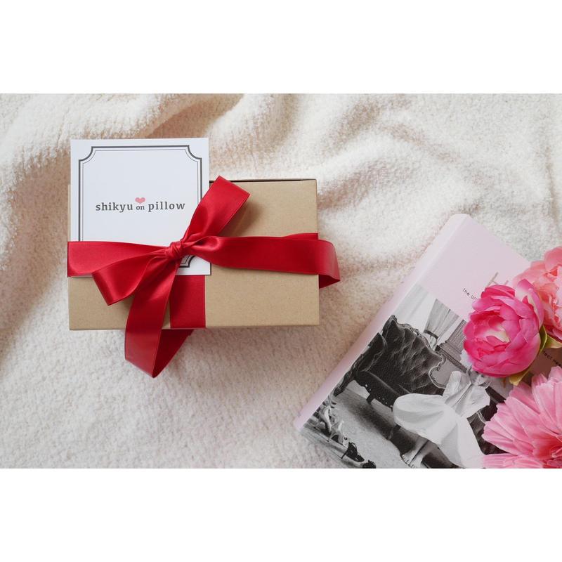 【GIFT BOX】Rich RedーRibbon