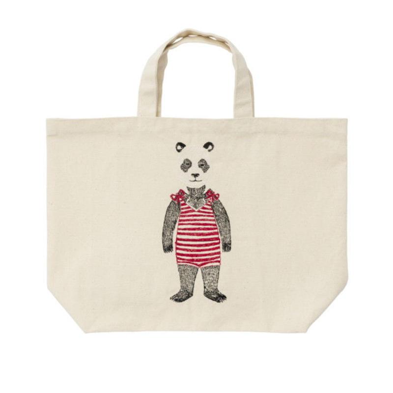 [お届けは4月中旬頃の予定です-ご予約販売] Coral & Tusk/コーラル・アンド・タスク「Panda Tote」パンダモチーフ刺繍トート