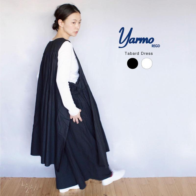 YARMO(ヤーモ)  Tabard Dress タバードドレス エプロンワンピース