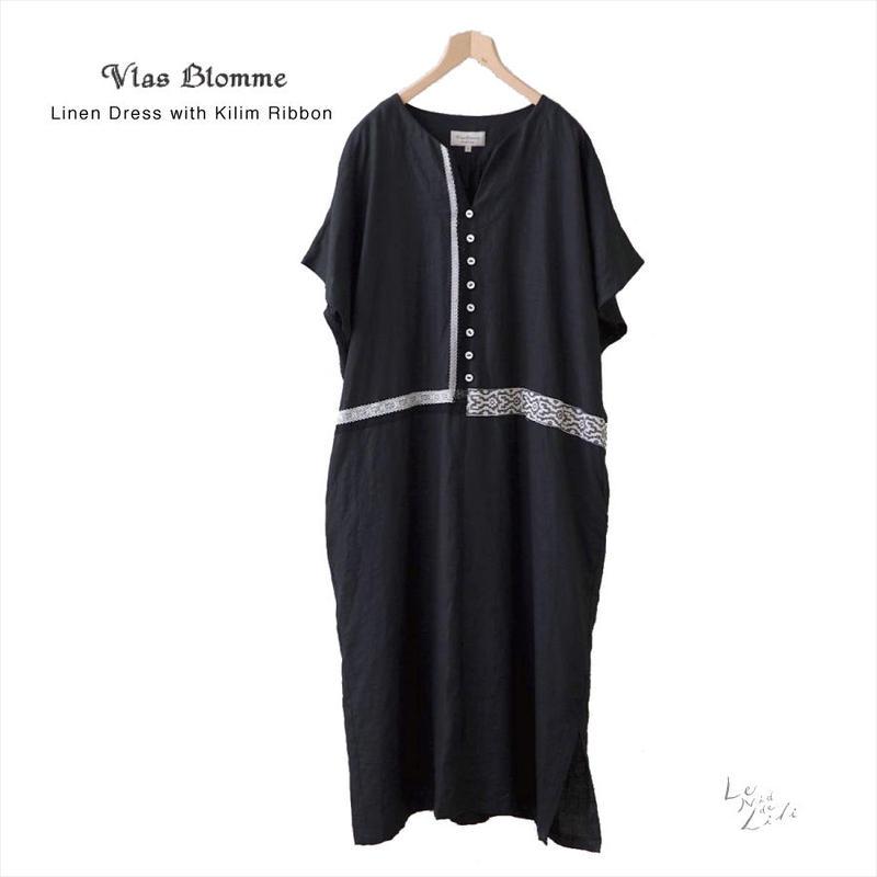 Vlas Blomme(ヴラスブラム)  KL Heritage 60 キリム刺繍ワンピース 13218991