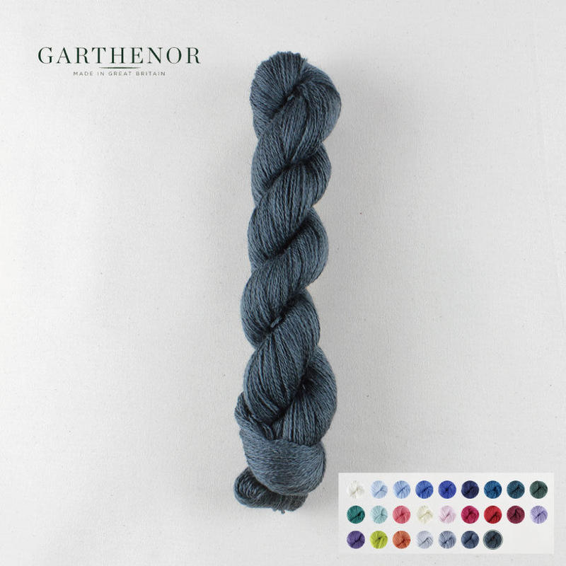 GARTHENOR:Pennine 50gかせ 全25色 (Laceweight)
