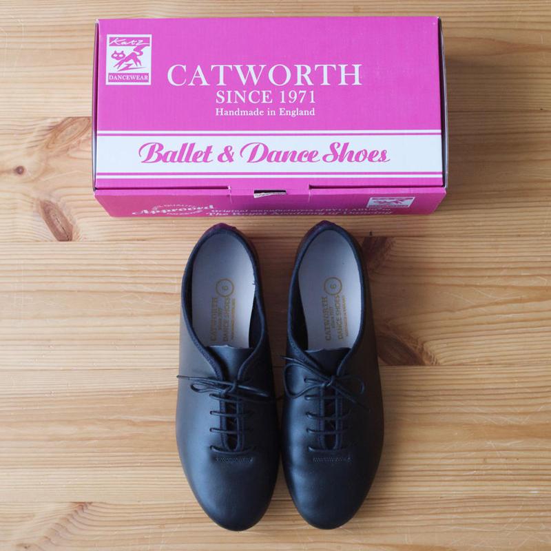 CATWORTH(カットワース/キャットワース)Jazz Shoe Calf /BLACK