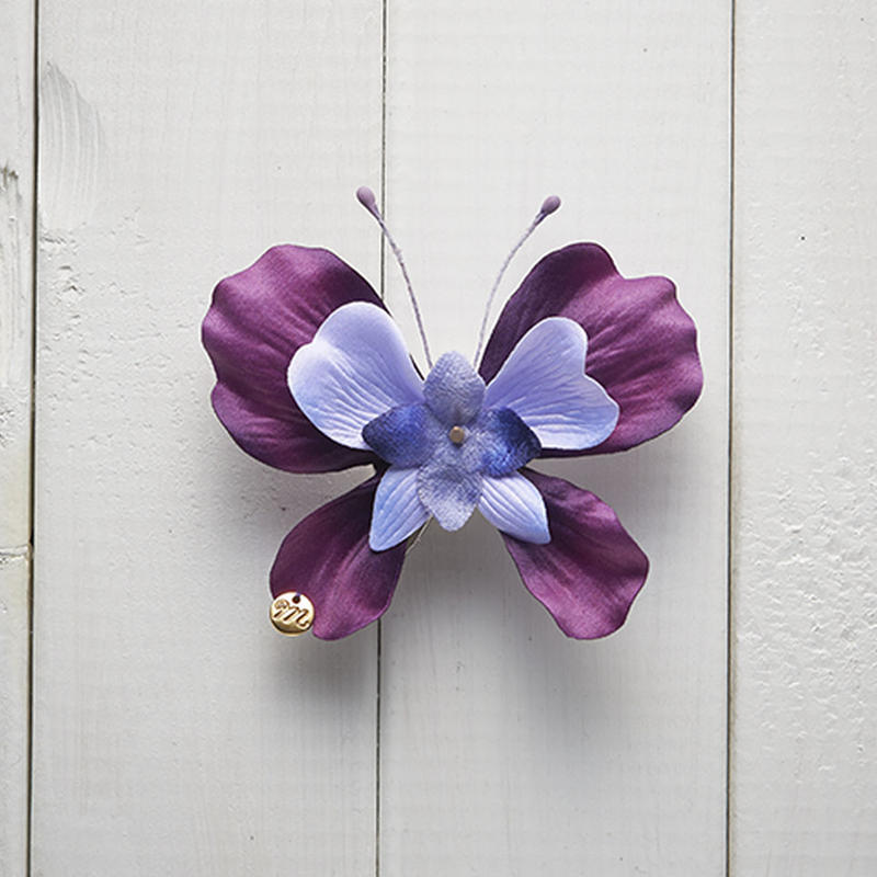 Le Papillon de fleur ヘアーアクセサリー(S/PUR)BOX付き