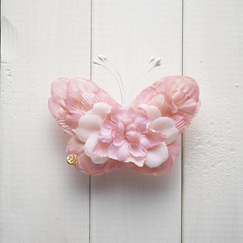Le Papillon de fleur ヘアーアクセサリー(M/PK)BOX付き