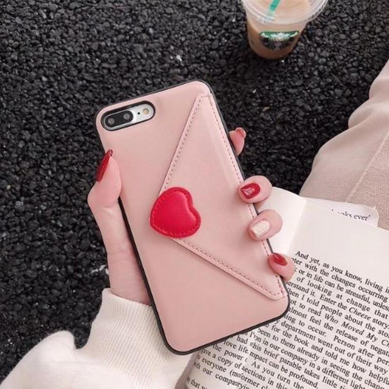 ラブレターケース ピンク