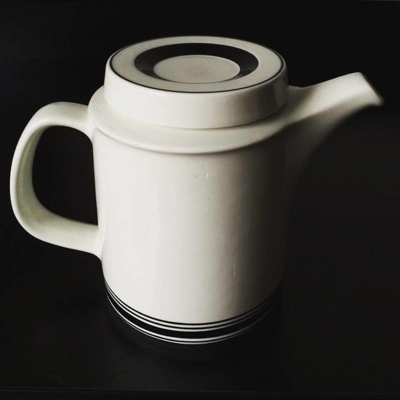 "Coffee pot ""Farenza-Black line"