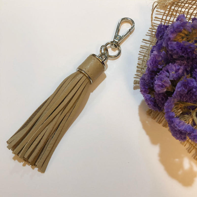 real leather tassel
