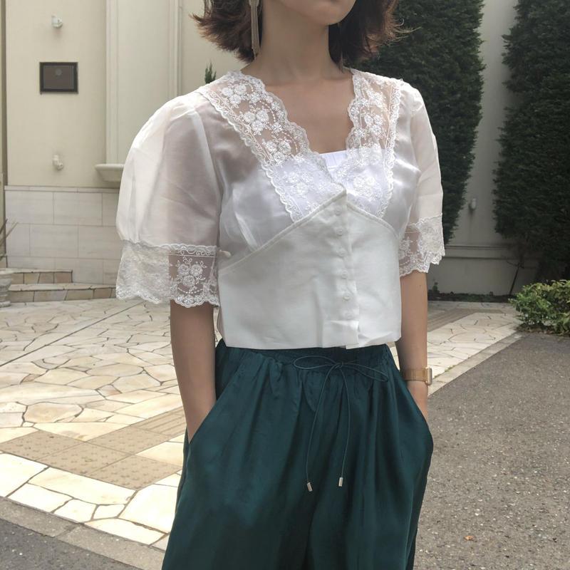 short classical blouse