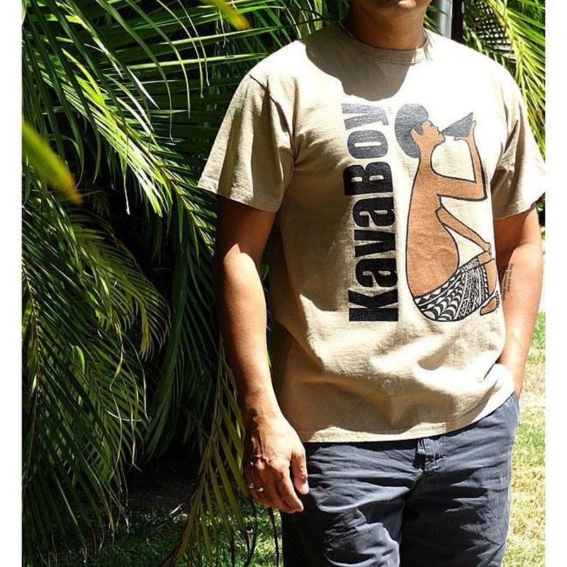 KAVA BOY カヴァで染めた Tシャツ HNLS01730-03210
