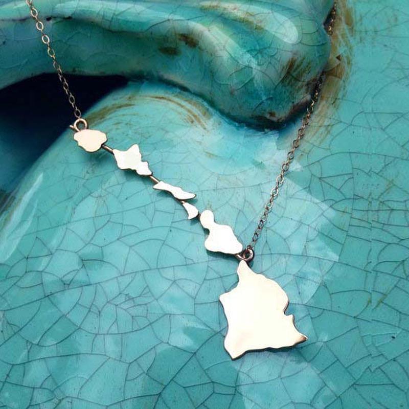 Sparrow Seas ミスハワイオフィシャル ハワイアンジュエリー シルバーネックレス HNLS01936-82350