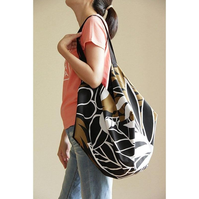COCOON BAG フラフラ ブラックリーフ HNLS02707-1880