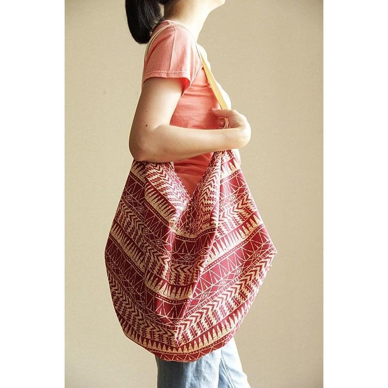 COCOON BAG フラフラ ポリネシアタトゥー HNLS02706-1880