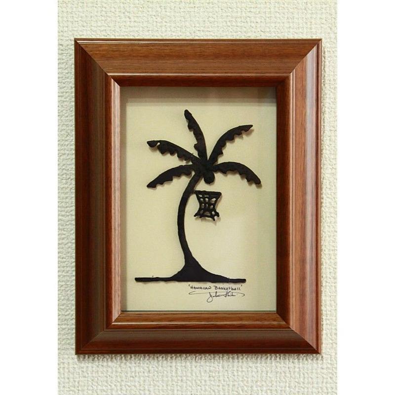 ハワイアンアート Palm Basket コアウッドフレーム HNLS0735-57040