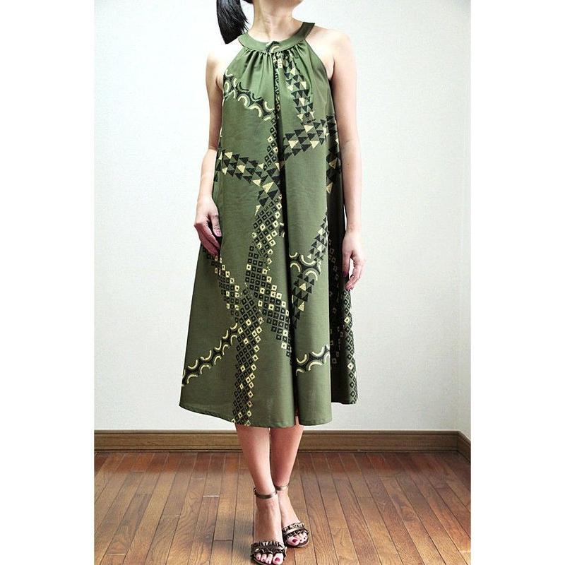 Ginger Dress OLIVE TAPA  ジンジャードレス HNLS02743-55310