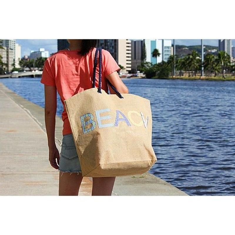 BEACH ジュートバッグ HNLS02645-8490