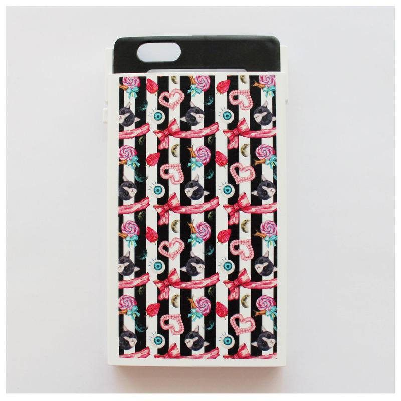 【NITTOコラボレーション】ヌンチャク系iPhoneケース・トリックカバー(ごとうゆりかver.)iPhone6plus