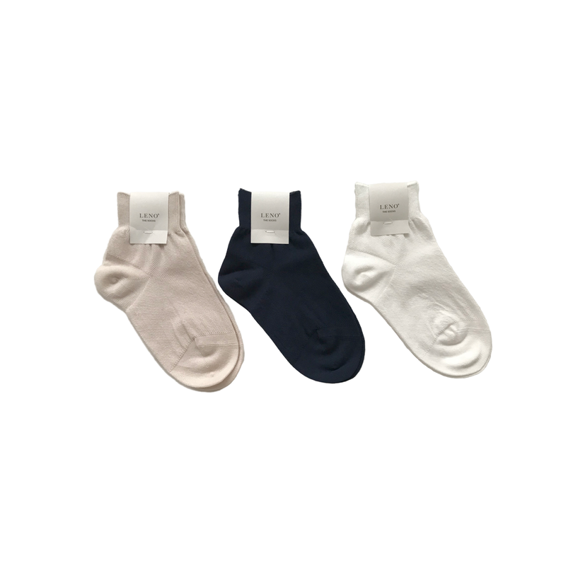 COTTON PIQUE SOCKS