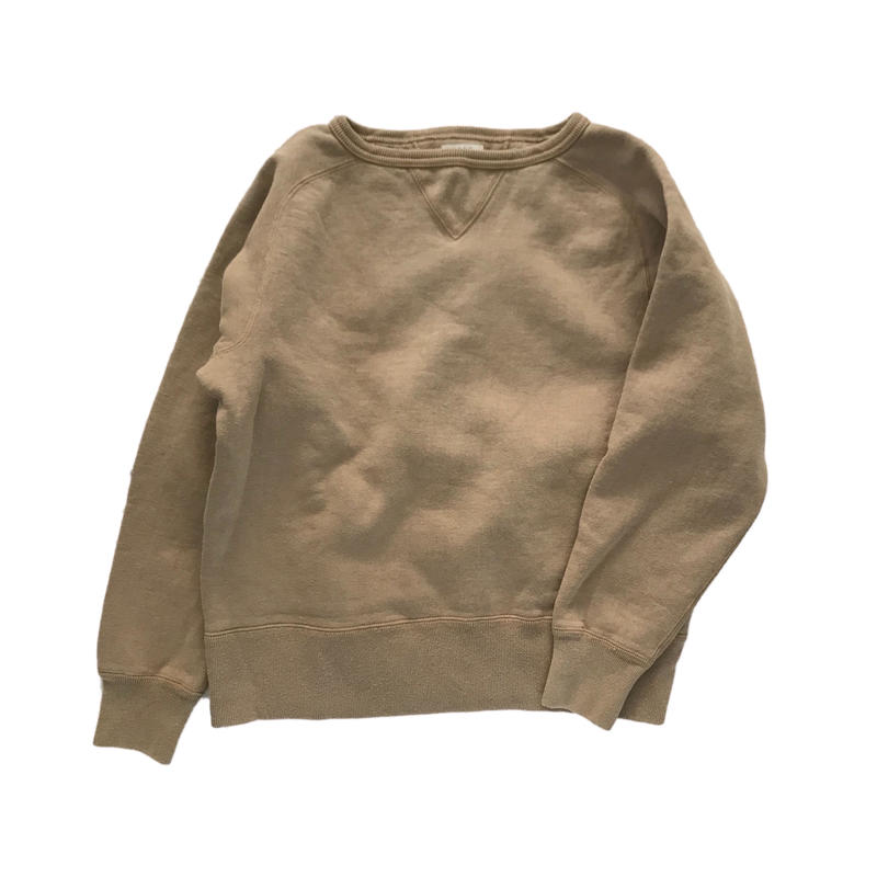 【COFFEE DYED】FREEDOM SLEEVE SWEAT