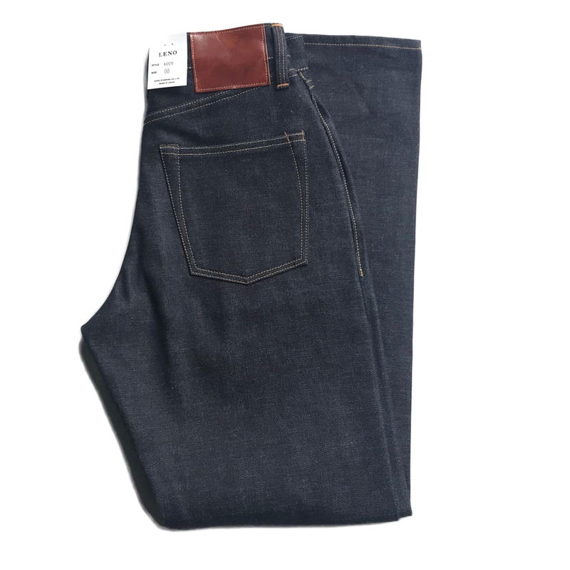LUCY HIGH WAIST TAPERED JEANS -NON WASH-