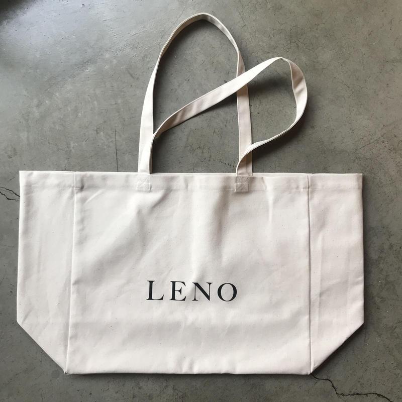 LENO CANVAS TOTE BAG