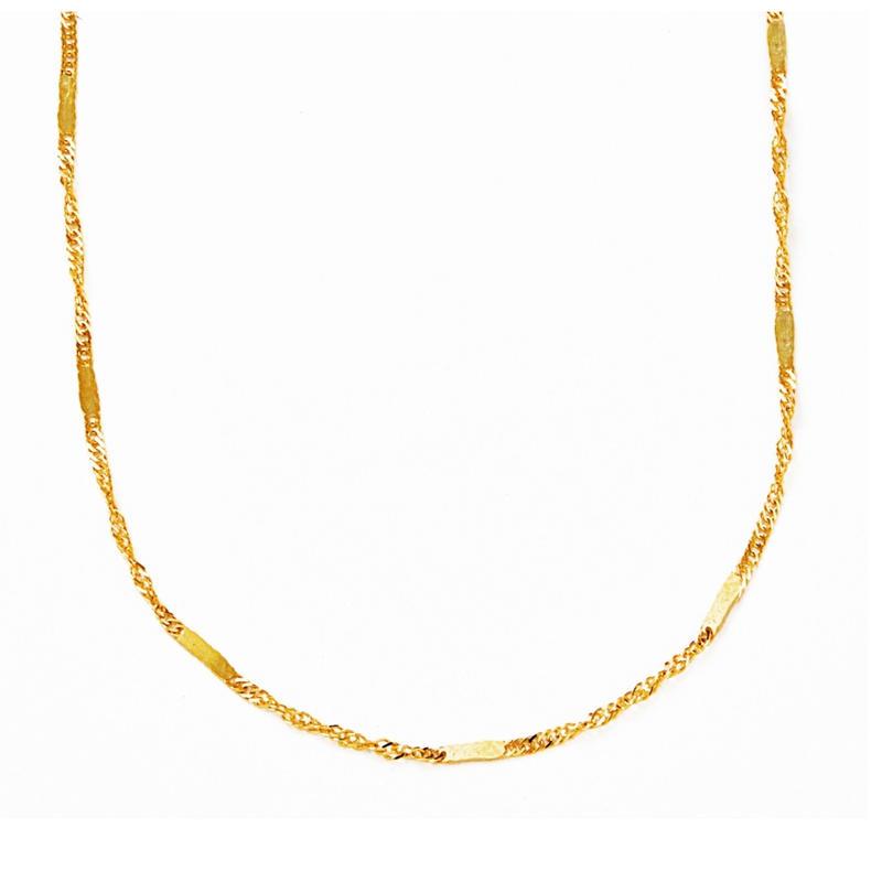 screw necklace【スクリューネックレス】