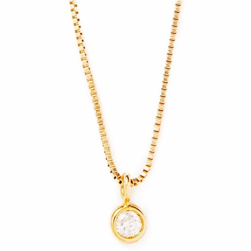diamond venice necklace 【ダイヤモンド ベネチアチェーン ネックレス】