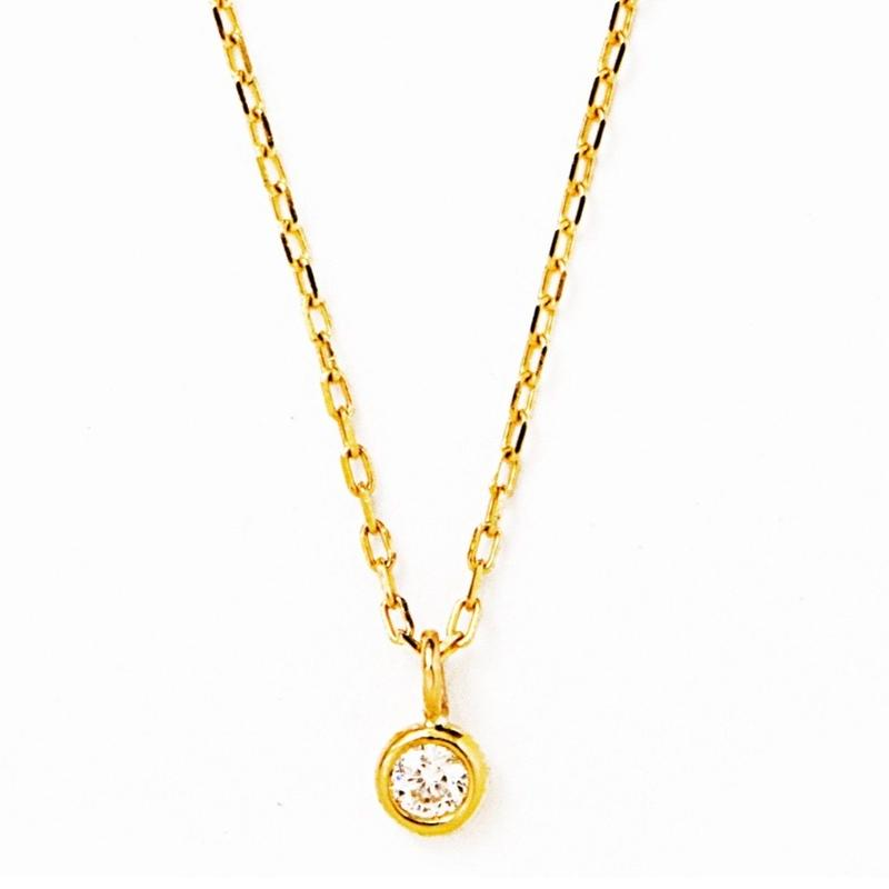 diamond chain necklace 【ダイヤモンドチェーンネックレス】
