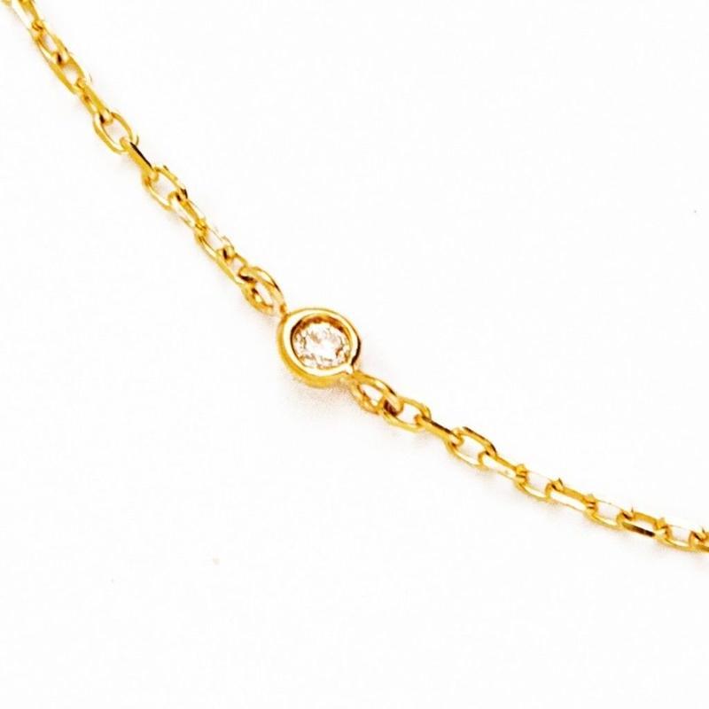 diamond chain  bangle【ダイヤモンドチェーンバングル】