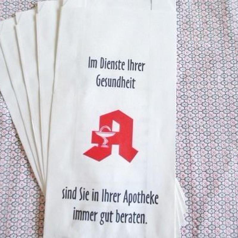 ドイツ:薬屋さんの紙袋5枚セット